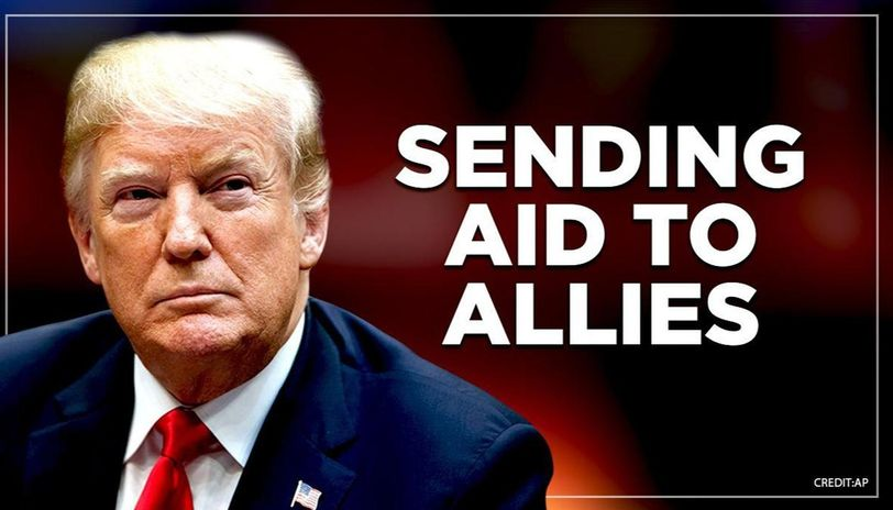 US will be sending aid to Italy and other countries