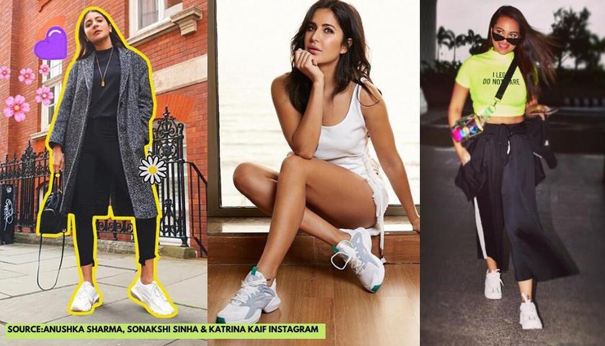 anushka sharma white shoes