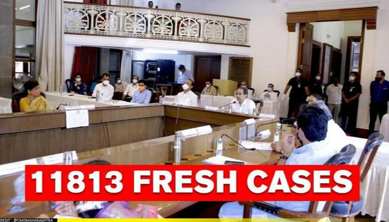 COVID-19 crisis: 11,813 new cases reported in Maharashtra; 9,115 discharged in a day - Republic World