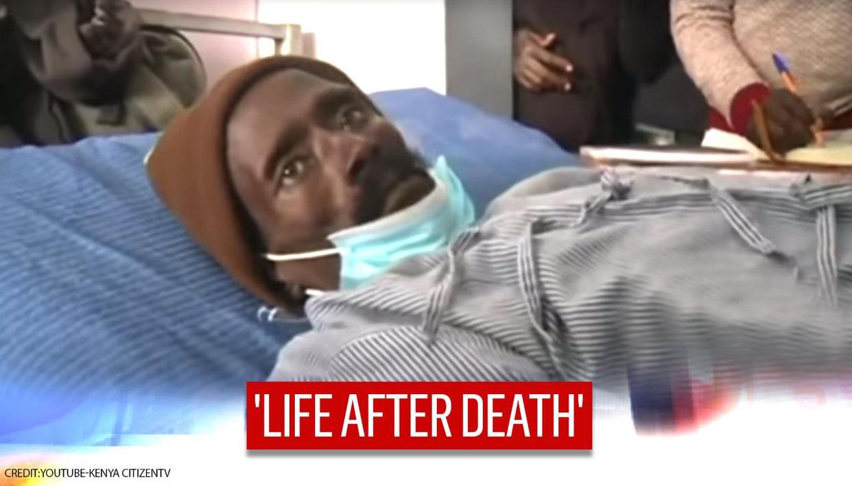 Shocking! Man in Kenya 'wakes from dead' and wails in pain in morgue during embalming