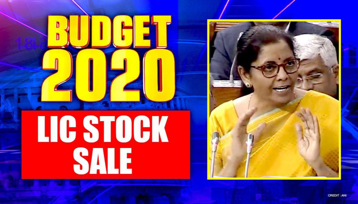 Budget 2020: In mega divestment move, Govt to sell part of its holding in LIC through IPO - Republic World