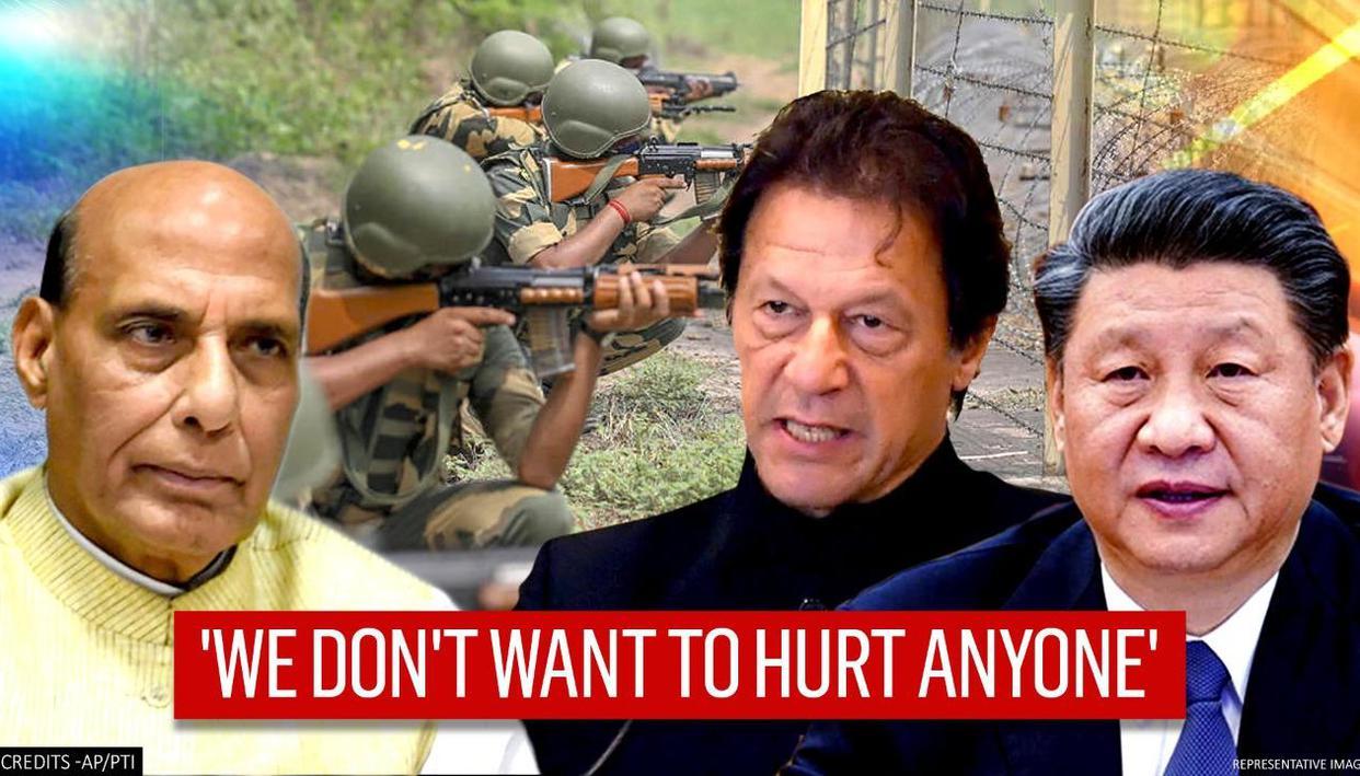 Defence Minister Rajnath Singh warns China & Pak, says 'India will retaliate if provoked'