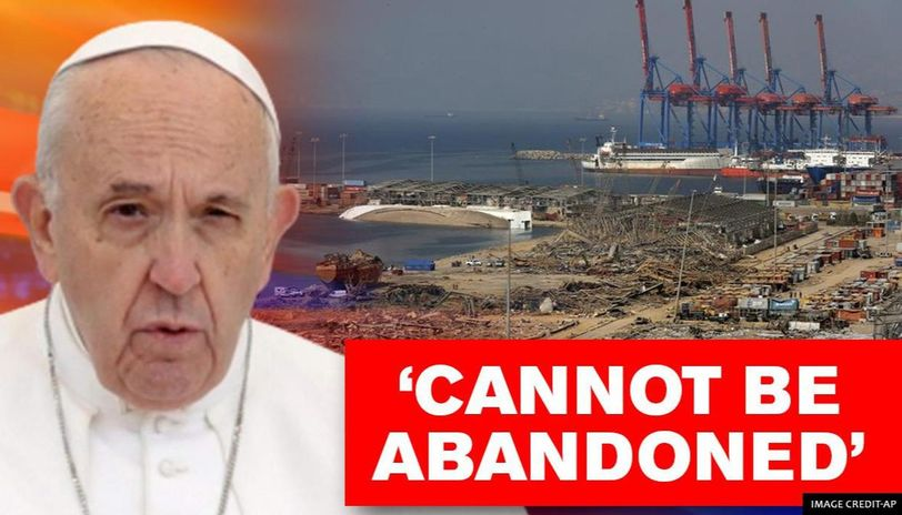 Pope Francis says Lebanon faces 'extreme danger' and threat to its existence