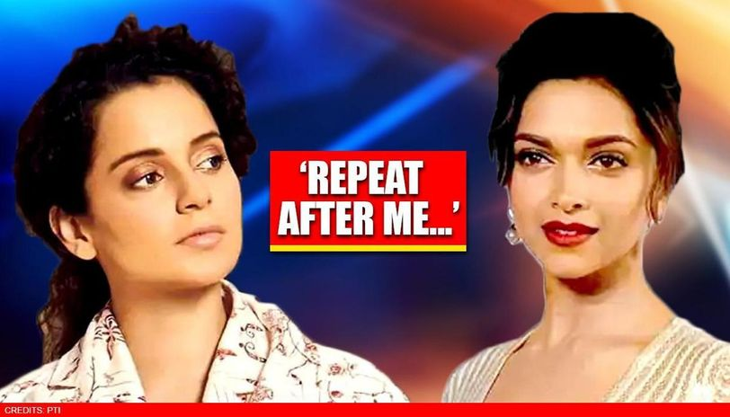 As Deepika Padukone chats on drugs surface, Kangana Ranaut fires 'repeat after me' dig