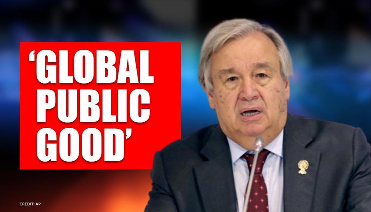 UN chief Antonio Guterres backs development of 'people's vaccine' for coronavirus - Republic World
