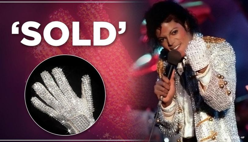 Michael Jacksons crystal glove | Michael jackson, Jackson