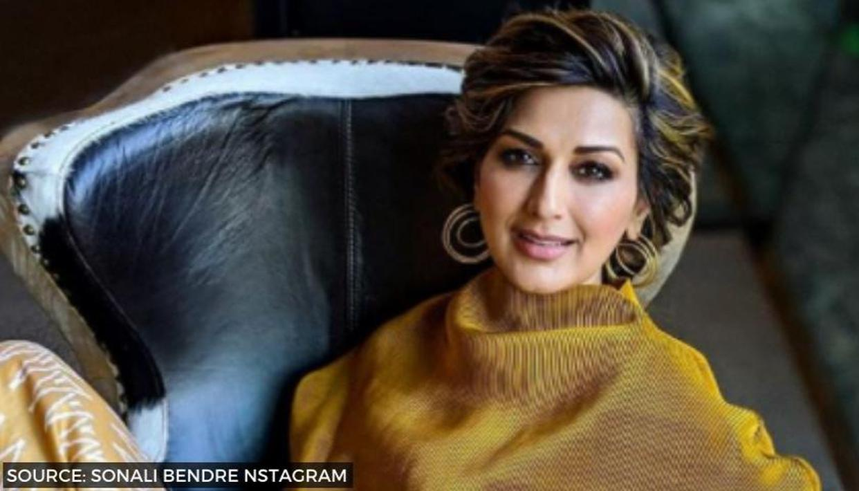 Sonali Bendre's posts workout pictures in stunning yoga attire says she is in a 'Zen' mode - Republic World