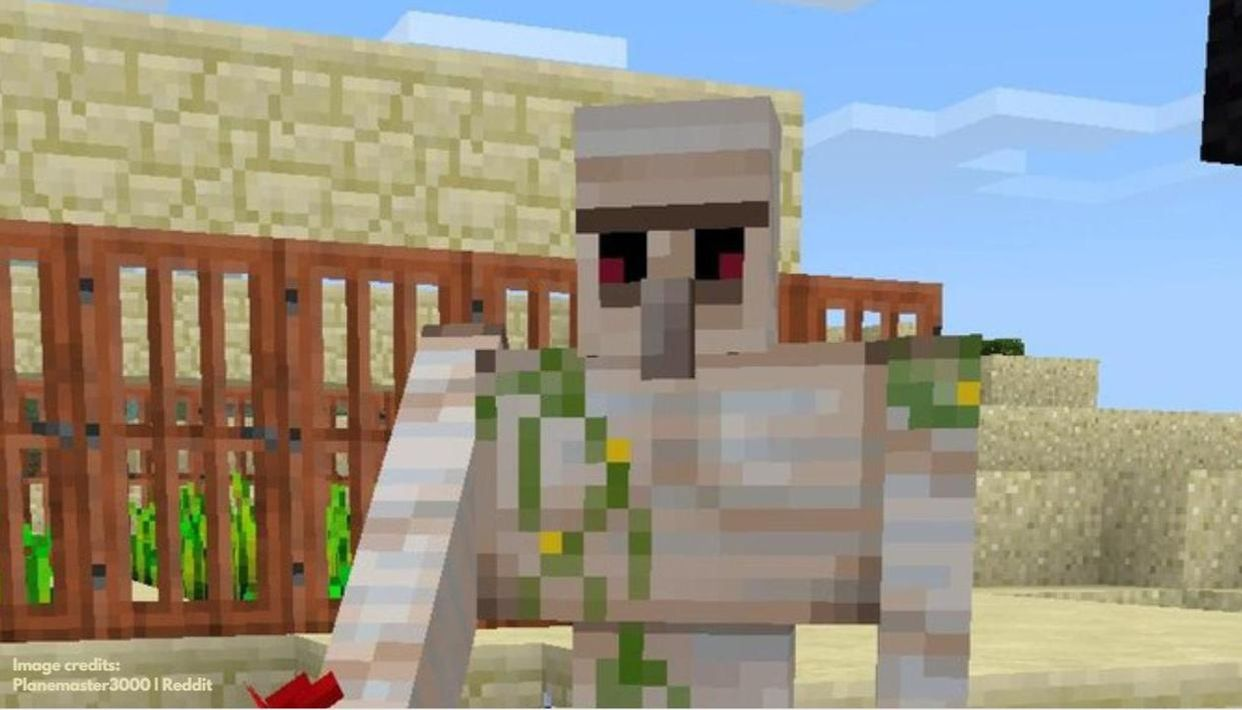 How To Make An Iron Golem In Minecraft To Defend Against Enemies