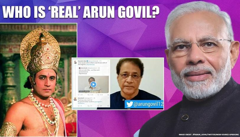 'Ramayan' star Arun Govil posts video to clear the air on Twitter; has message for PM Modi