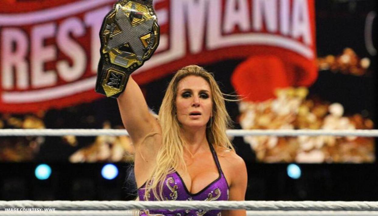 WrestleMania 36: Charlotte Flair demolishes Rhea Ripley, becomes ...