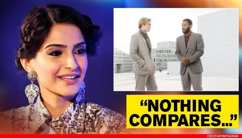 Sonam Kapoor watches 'Tenet' in London theatre, goes gaga over 2 highlights