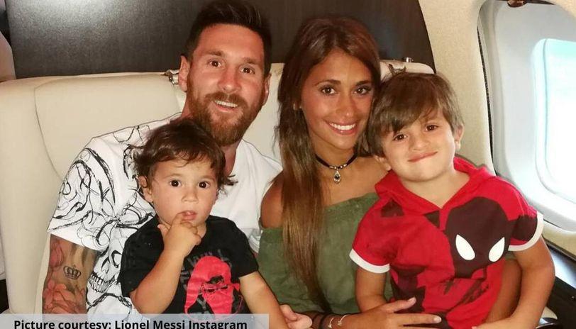 Lionel Messi private plane