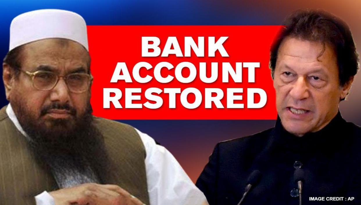 Pakistan restores bank accounts of 26/11 mastermind Hafiz Saeed and 4 other terrorists - Republic World