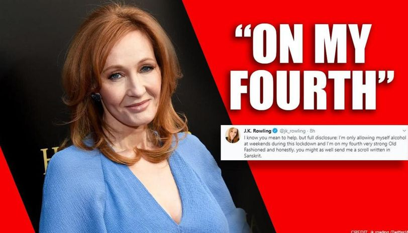 JK Rowling clueless about bitcoin, admits being drunk amid interesting chats to learn it