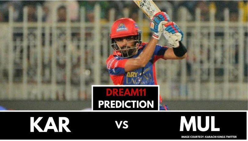 KAR vs MUL dream11 prediction