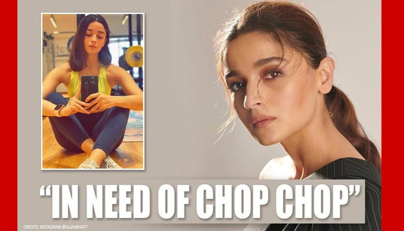 Alia Bhatt cuts hair at home with 'loved one's help, shares what has changed in 60 days