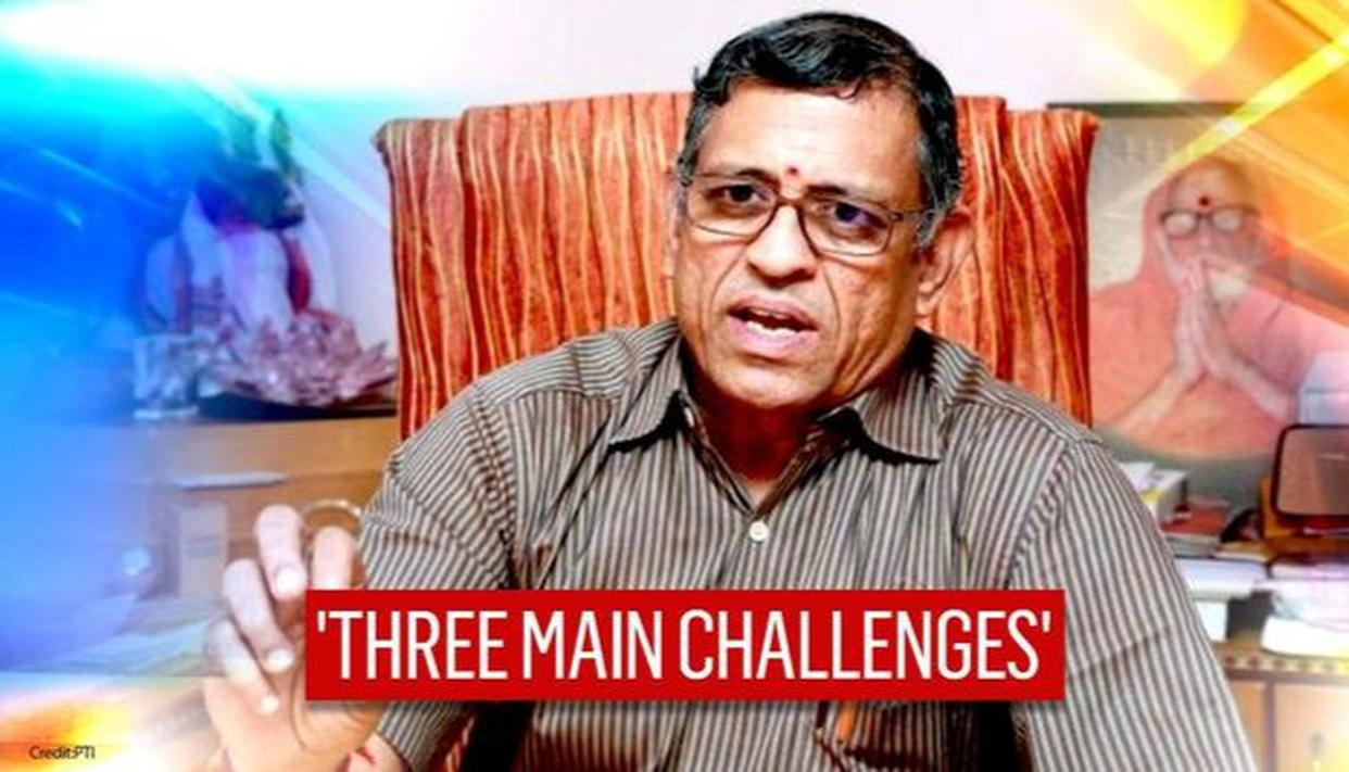 Gurumurthy speaks to Arnab, shares views on 3 main challenges that are holding India back