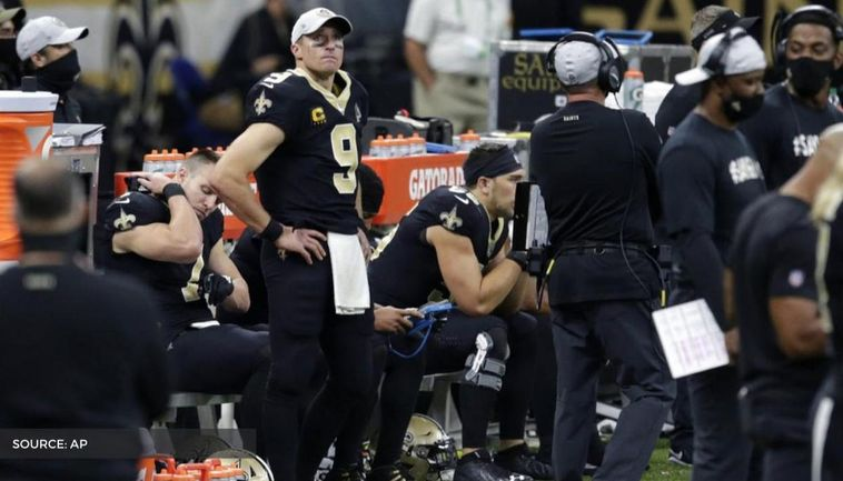 Drew Brees Injury Update Qb Suffers Multiple Rib Fractures Collapsed Lung On The Right