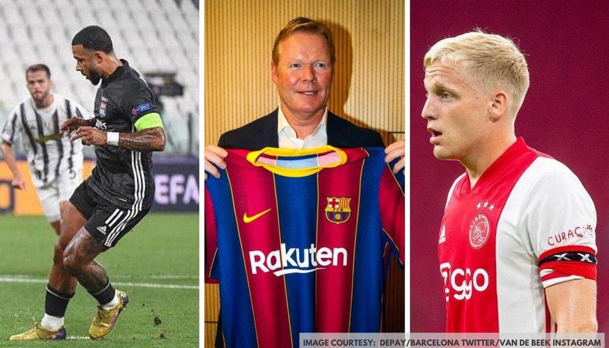Barcelona transfer news: Van de Beek ...