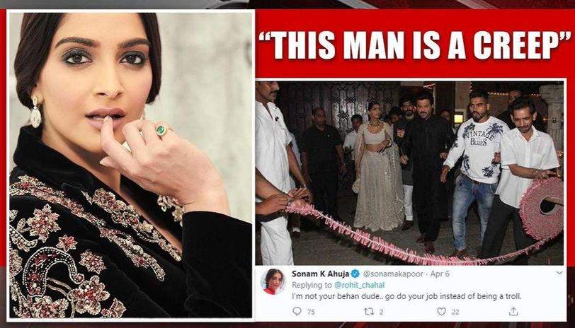 Sonam Kapoor reacts to trolls over firecrackers post; netizens still not convinced