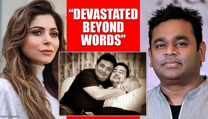 Adnan Sami emotional with death of 'elder brother' Rishi Kapoor, Rahman, Kanika mourn loss