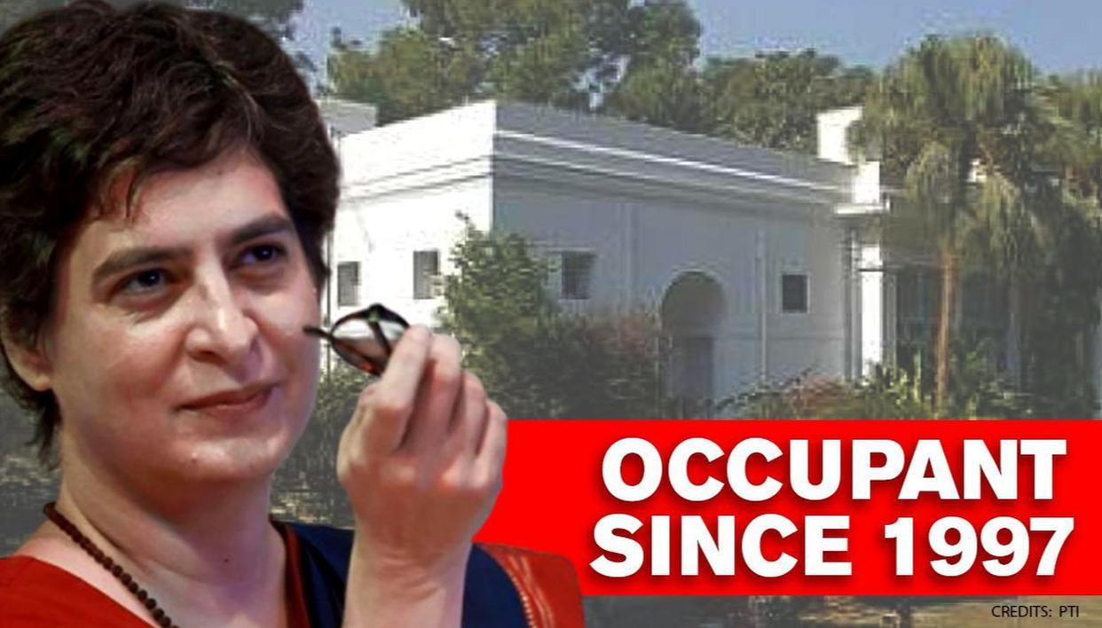 Priyanka Gandhi Vadra asked to vacate govt bungalow held since ...