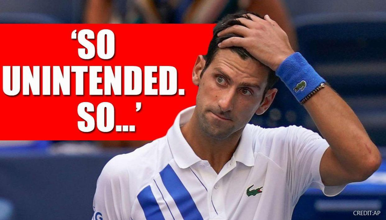 Novak Djokovic Sad Empty After Striking Line Judge In Rage Getting Us Open Boot Republic World