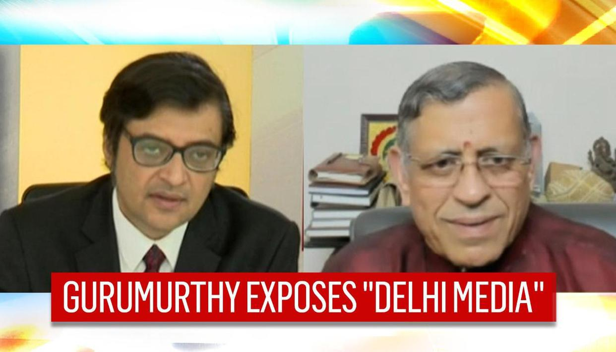 Gurumurthy hits out at 'Delhi media', says they have 'enormous amount of vested interest'