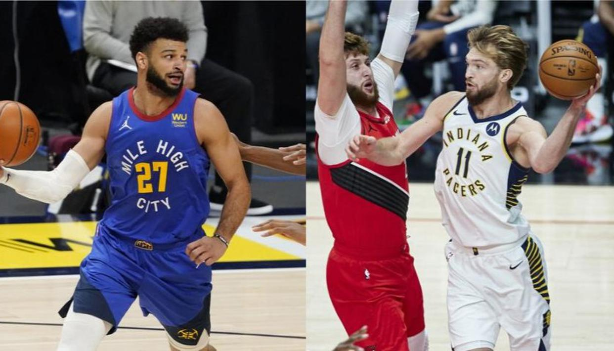 NBA scores: Rockets win first game without Harden in 9 years, Warriors lose to Nuggets