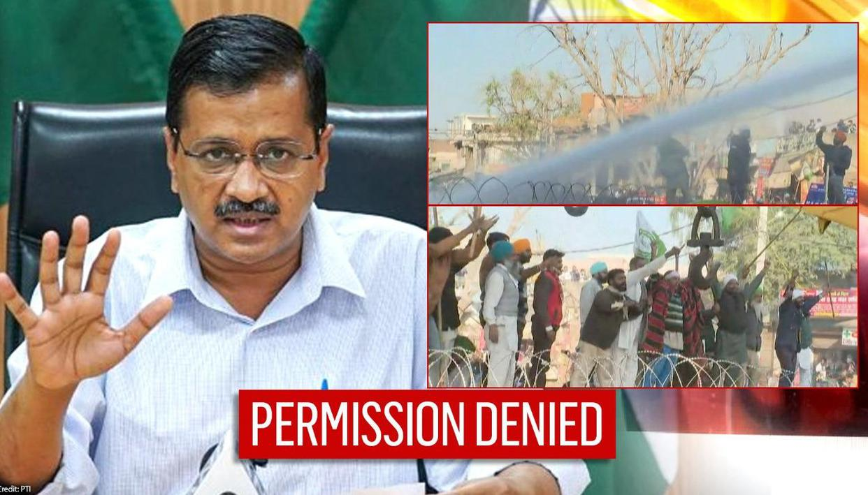 Amid farmers' protest, Kejriwal denies consent to Police for converting stadiums into jail