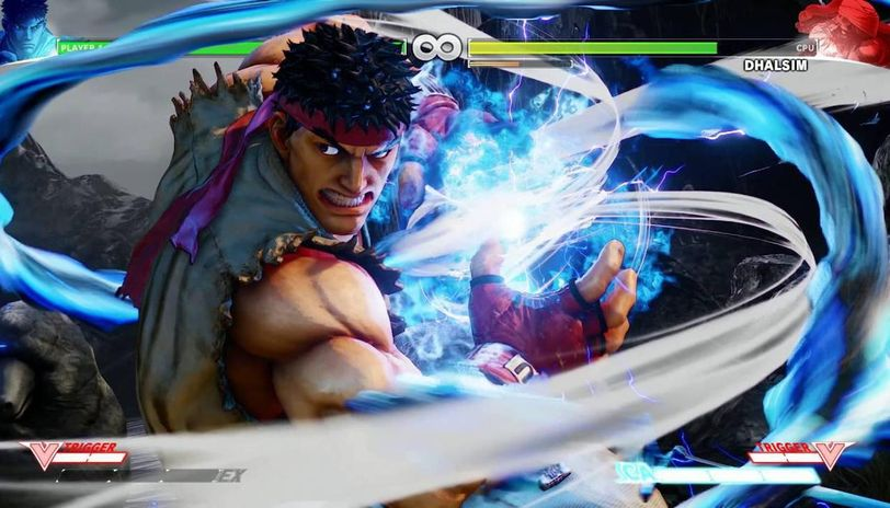 street fighter ryu special moves