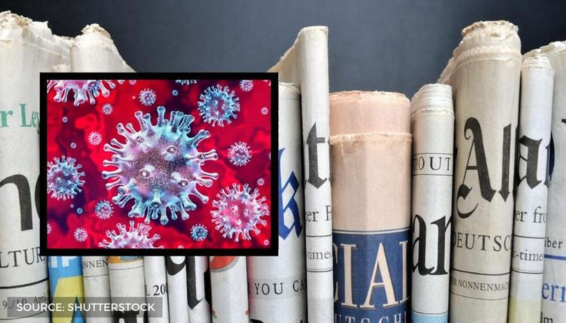 can coronavirus spread through newspapers