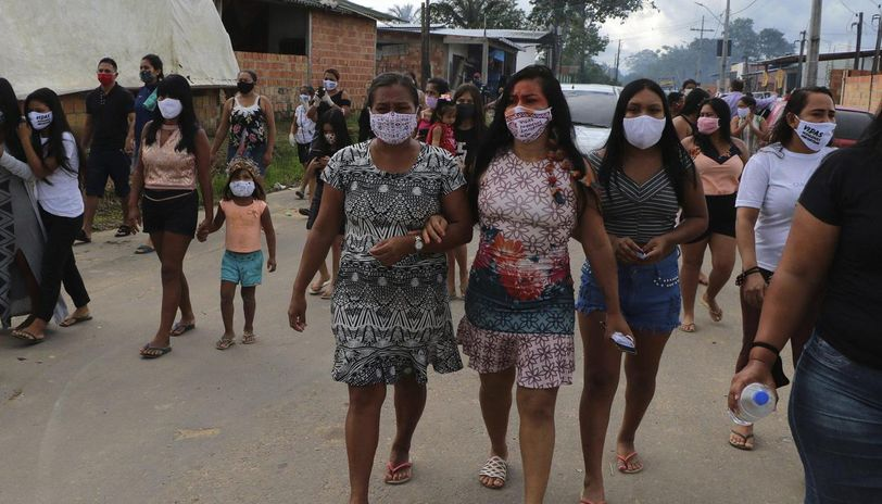 Brazil surpasses UK with 2,55,368 COVID-19 cases, death toll ...
