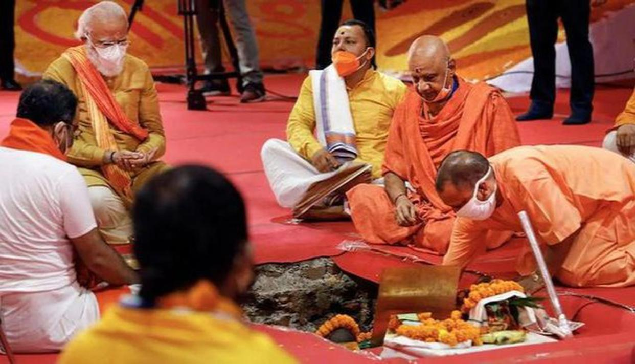 Ram Mandir Bhumi Pujan: Union Ministers commemorate 'historic' ceremony, laud PM Modi - Republic World