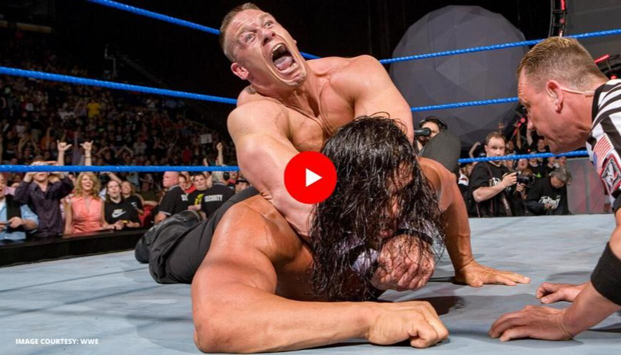 John Cena Defeats The Great Khali To Retain Wwe Title On Judgment Day 2007 Watch Video