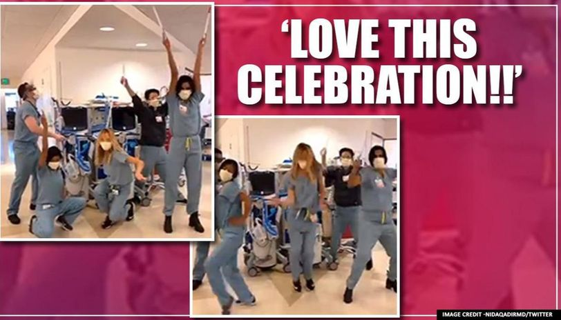 Good News: ICU team performs an 'extubation dance' as COVID-19 patient recovers | Watch