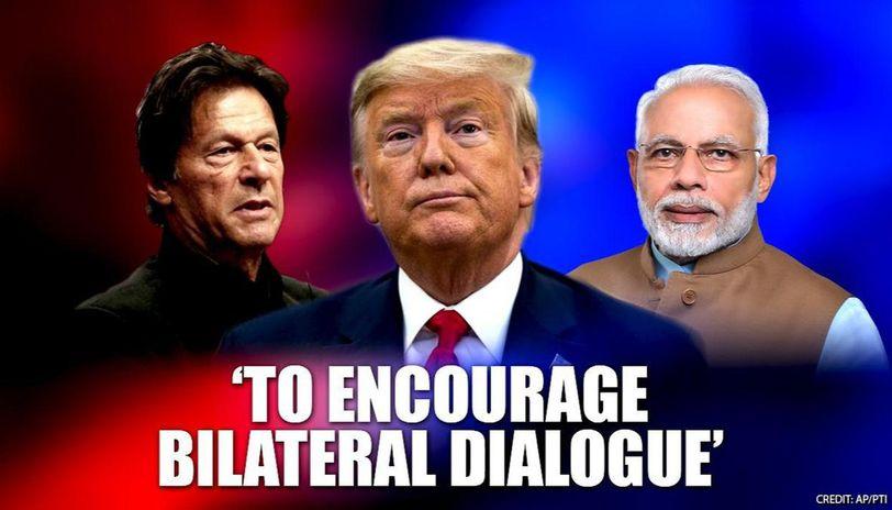 Trump to encourage bilateral dialogue between India, Pak