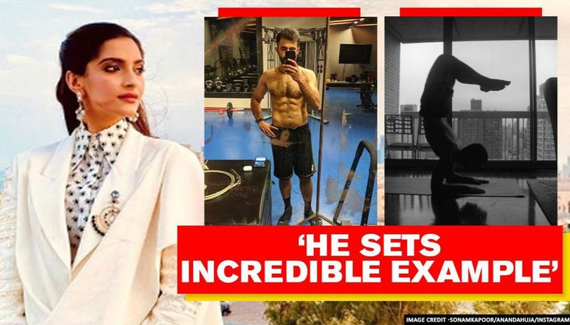 Sonam calls Anand a 'fitness junkie,' feels an adrenaline rush after seeing his obsession