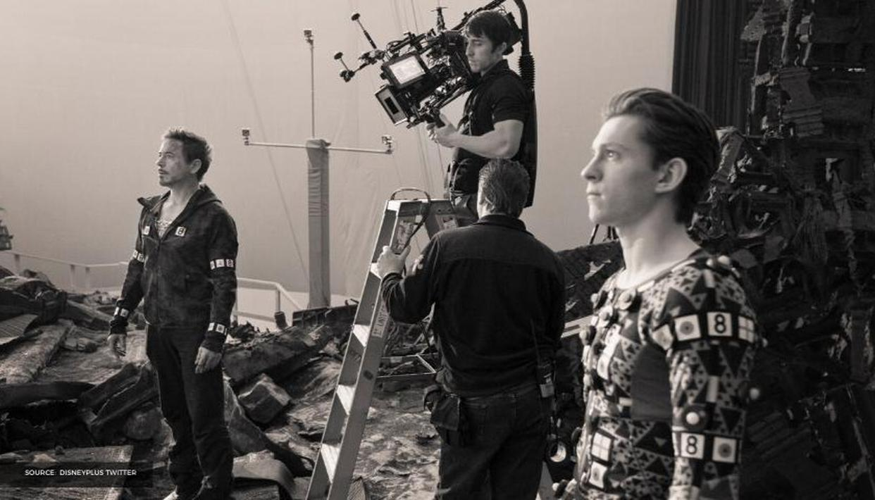 """""""Pretty intense, fun and epic"""" 'Avengers: Infinity War' BTS photos released by Disney+ - Republic World"""