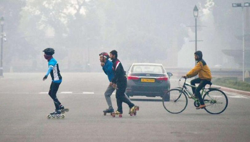 Min temperature in Delhi rises marginally