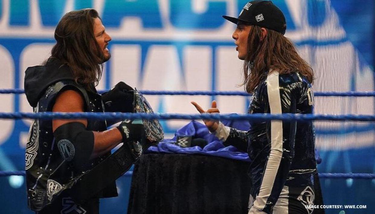 Matt Riddle ruins AJ Styles coronation before defeating him in a singles match thumbnail