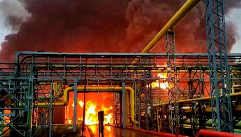 ONGC fire
