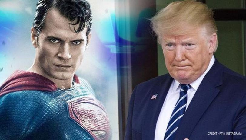 Trump Ridiculed For Wanting To Reveal Superman T Shirt In Front Of Supporters