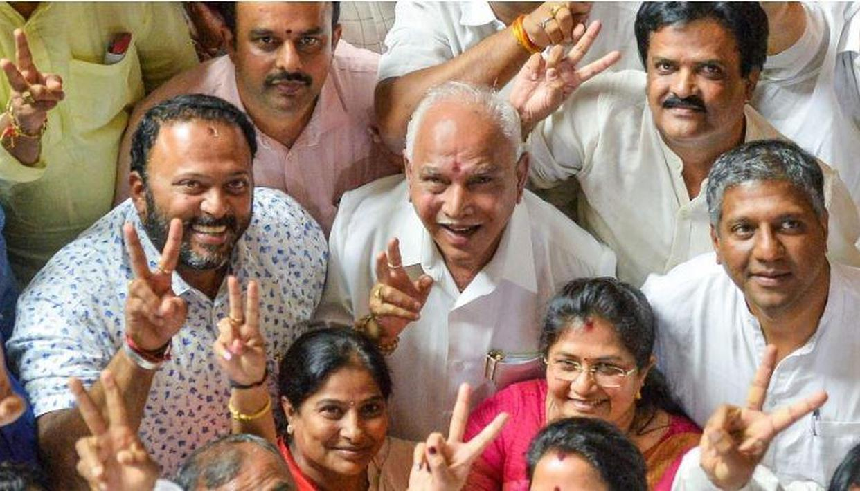 Karnataka: Counting of votes to begin from 8 am today