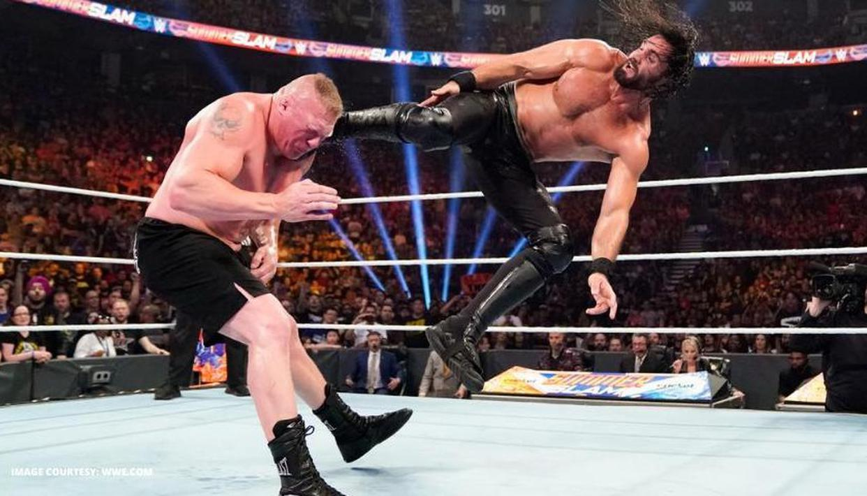 Seth Rollins picks his fight vs Brock Lesnar as the best SummerSlam fight of his career - Republic World
