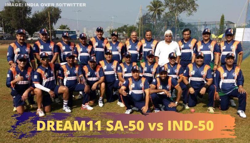 SA-50 vs IND-50 dream11 prediction