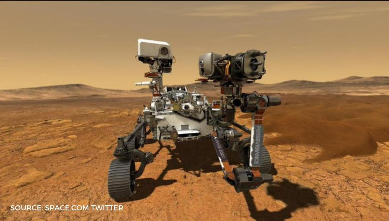 Car size Perseverance Rover to land on Mars soon, to start Red Planet exploration - Republic World