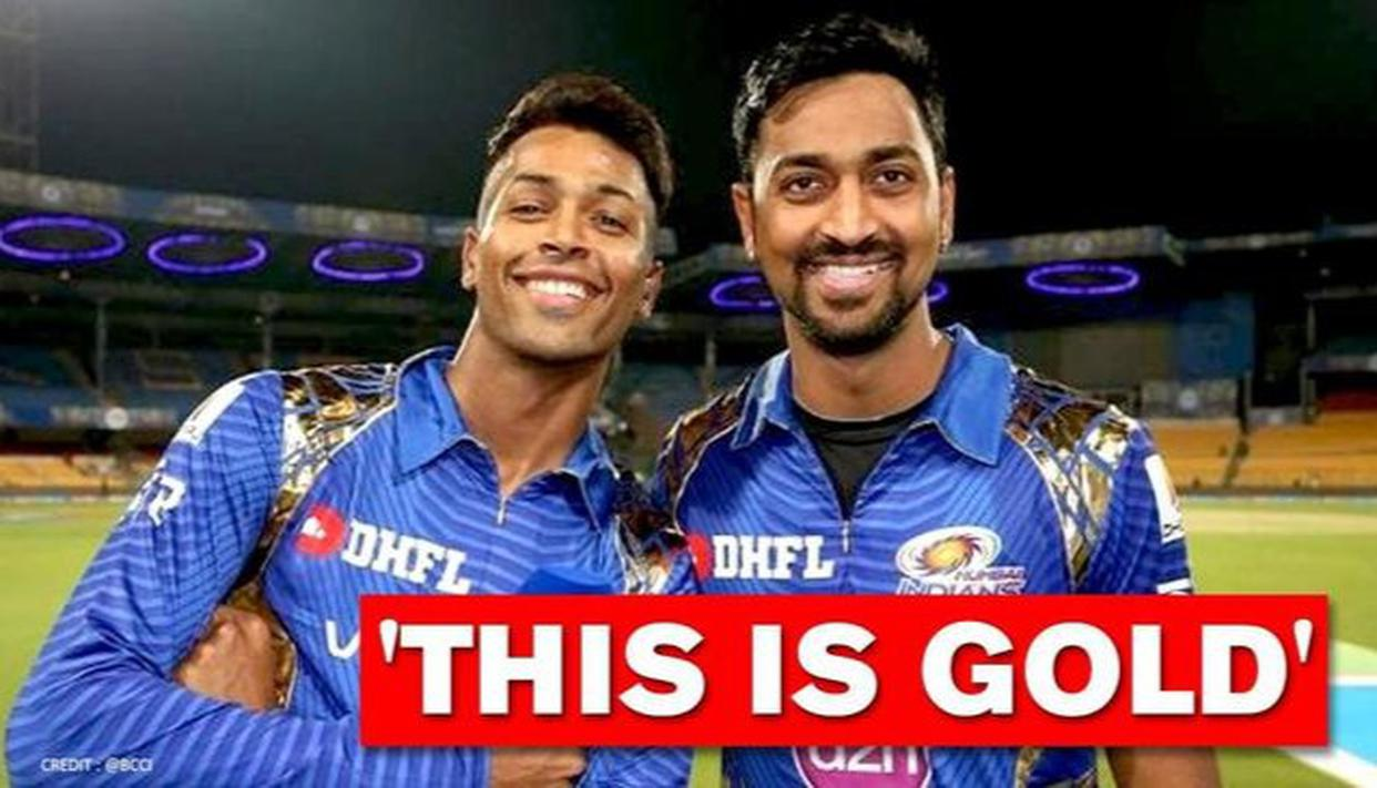 Hardik Pandya gets nostalgic over first-ever interview along with brother Krunal; Watch - Republic World