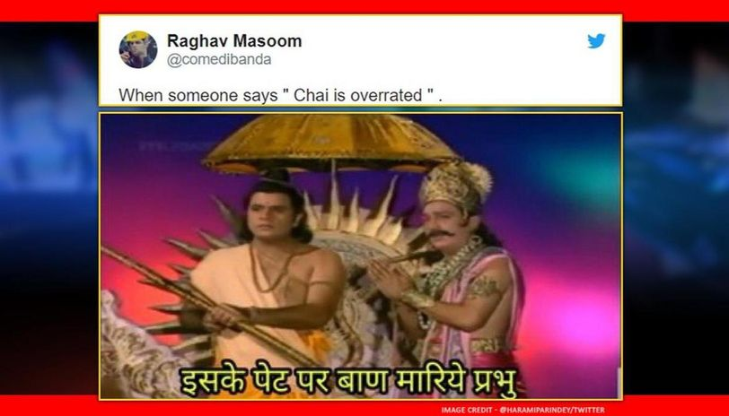 Ramayana rerun prompts one partucular scene to become a hilarious meme