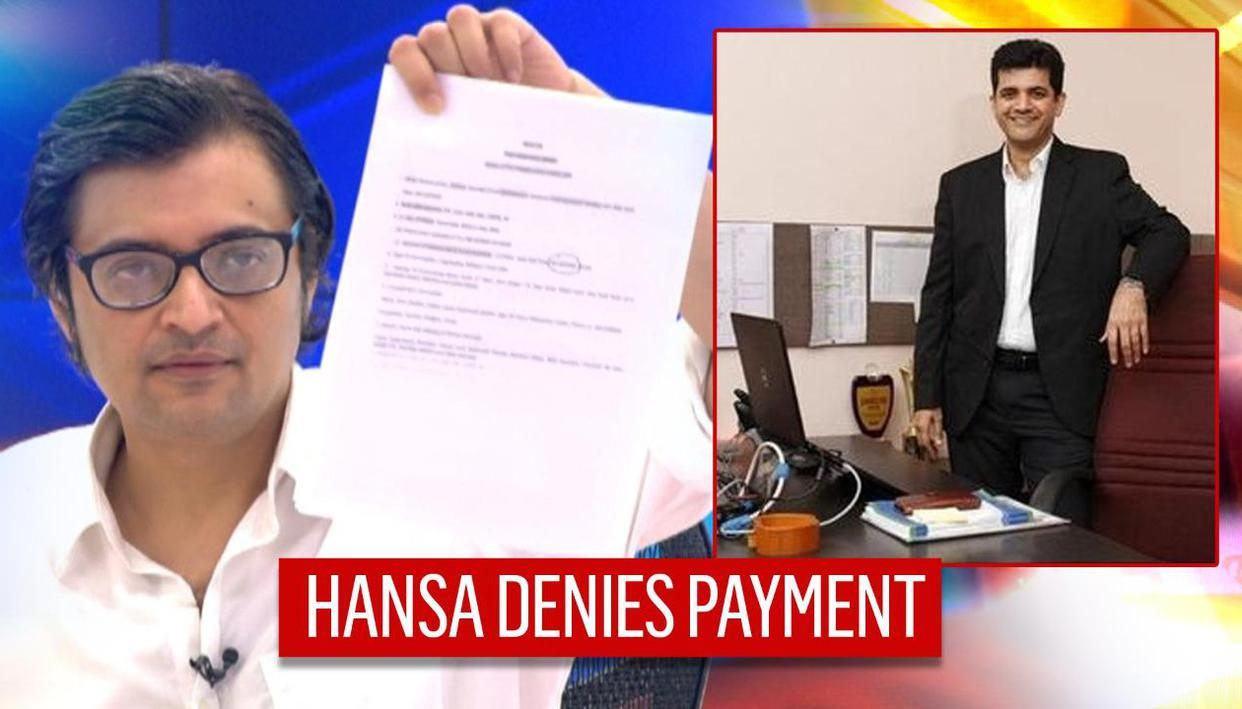 Hansa Research goes on record busting fake news, says 'no payment' to or from Republic